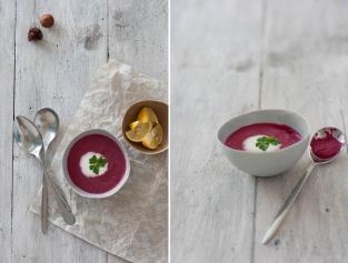 Rote Rüben Kokos Suppe