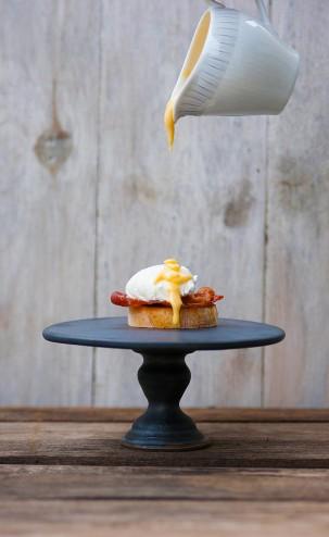 Ei auf einem Brot