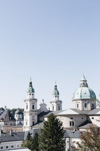 Ansicht von Salzburg